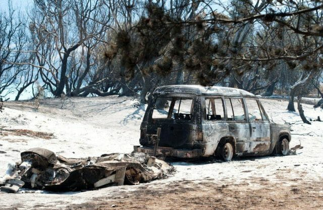 The January bushfires had a big impact on our community.