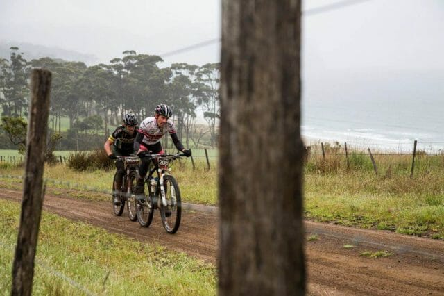 The pairs format adds an extra excitement to racing. By splitting some stages each rider still got to unleash the beast and show their strengths on the bike.
