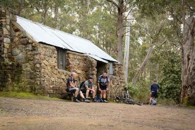 Junction Cabin is a friendly place for a break.