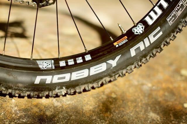 The WTB rims claim to be tubeless ready, but you'll still need to fit a rim strip before you go tubeless.