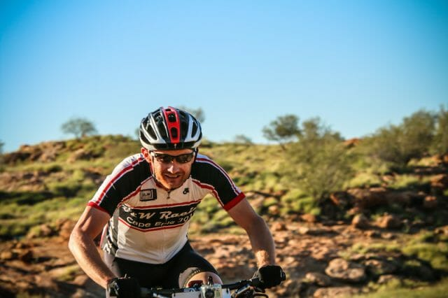 Ray Neill putting some hard-earned cash in the pain box (AKA Stage 4).