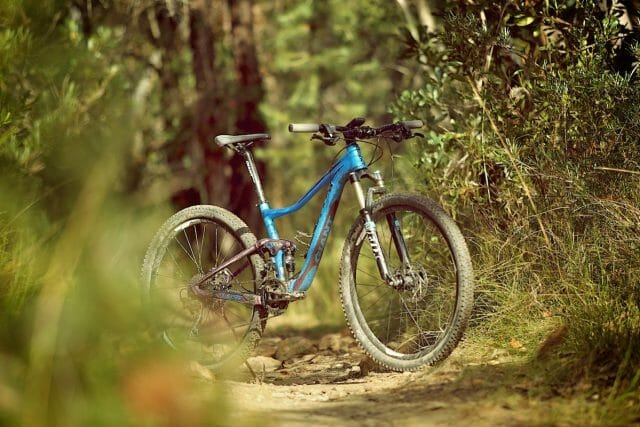 The comfort and capabilities of this bike give riders the confidence to build up to tackling new things.
