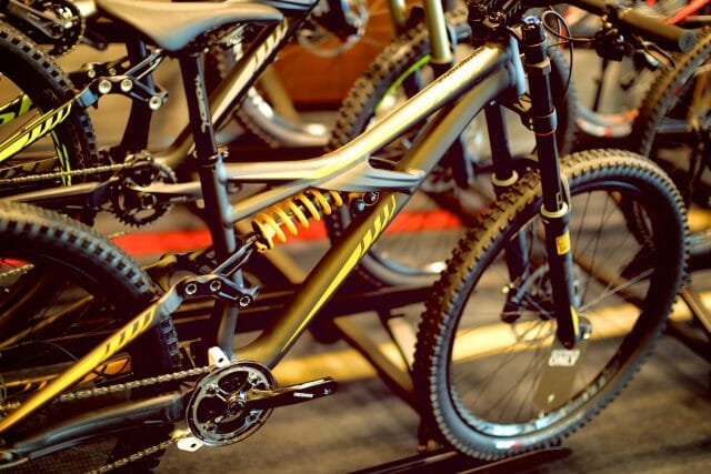 One of for the bike parks or calmer downhill tracks - the Enduro Expert EVO 650b, $6999.