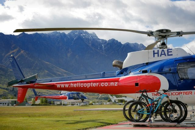 No trip to Queenstown would be complete without some heli-biking. Greg from Fat Tyre Adventures guided us for a run down Crown Peak. Mammoth stuff!