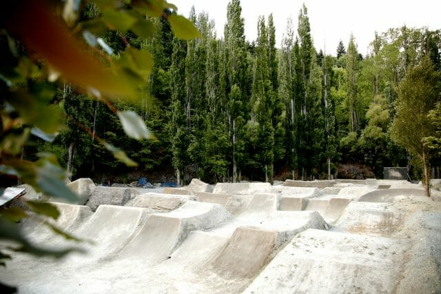 Queenstown is also home to one the most famed dirt jump parks on the planet, the Gorge Rd Jump Park.