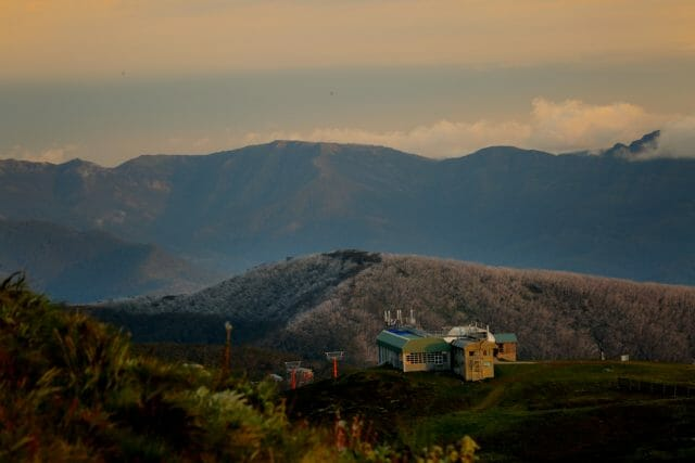 A visit to Buller can't be complete without a visit to the summit for a sunset beer.