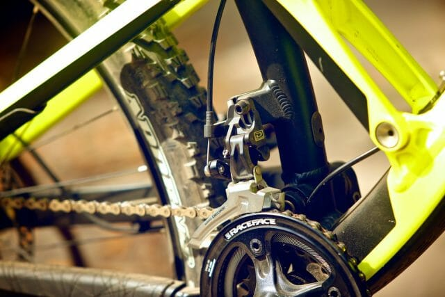 With a 36/22 double ring crankset, you'll always have the gears, even if you don't have the legs.