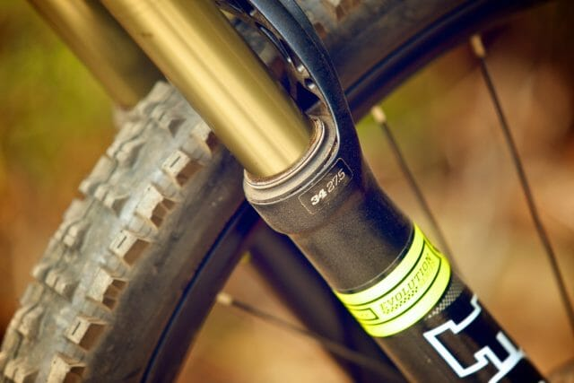 The FOX 34 160mm fork is a pearler.