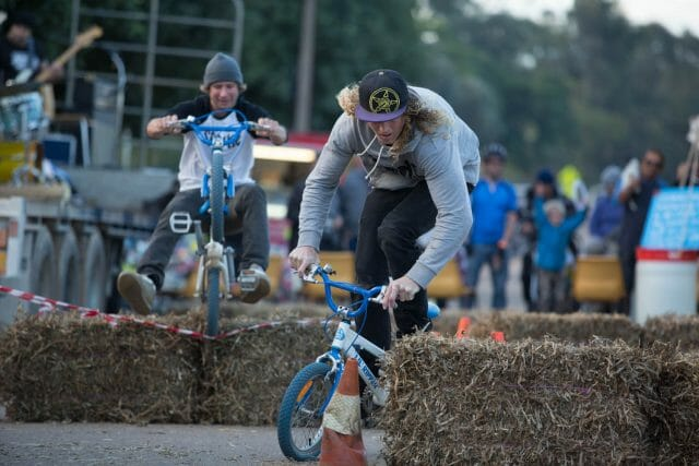 Are riders looking for new styles of events? Perhaps with less of a racing focus, like the Melrose Fat Tyre Festival.