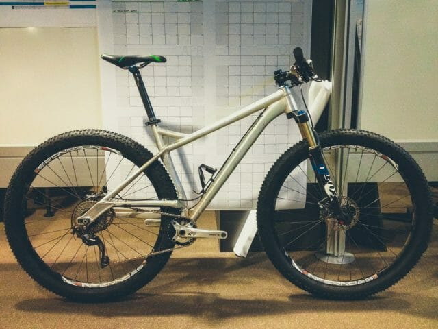 A cobbled together 'test mule', the result of this project is the Trek Stache.