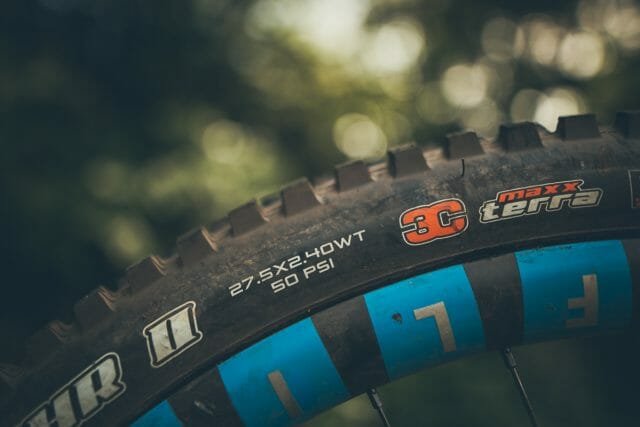 WT tyres from Maxxis.