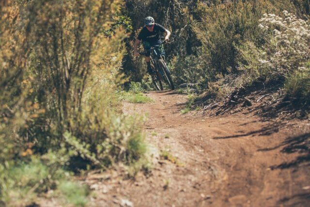 Flatter singletrack required the sort of effort you would expect aboard a 170mm bike.