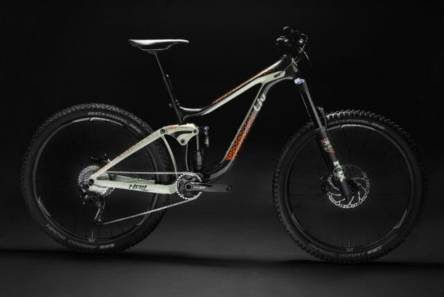 The Hail also comes two carbon variants, including the Advanced 1 model pictured.