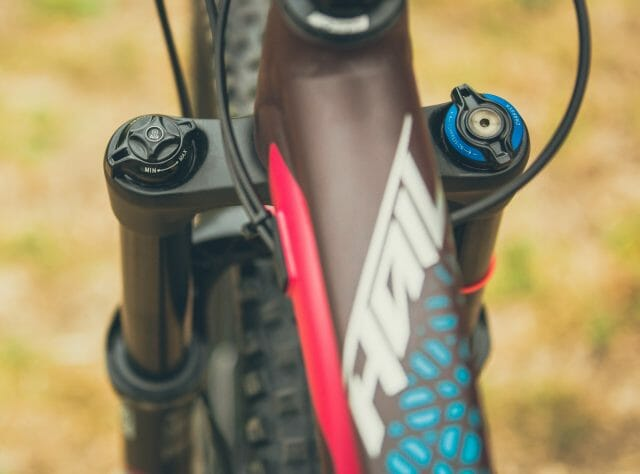 The Hail's suspension is tuned specifically for female riders.