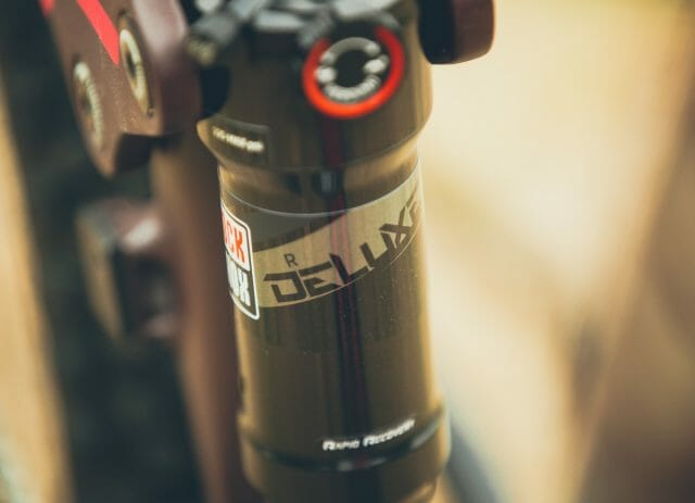 We're interested to gauge the performance of the Deluxe R shock.
