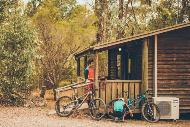 The Woolshed Cabins are run by passionate club member Chris Doe - highly recommended.