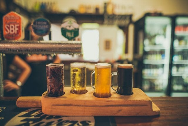 Craft beer from all over Tasmania on tap, now you're talking!