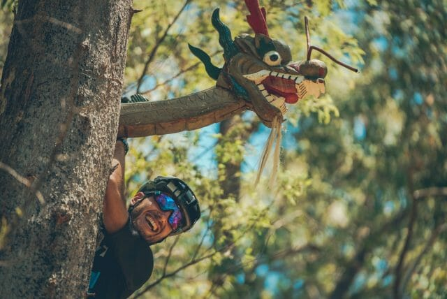 Dragon's Head is one of the Big Hill MTB Park's newest trails - you won't find it on the map, it's too fresh. It's one of the trickiest trails around, but such a buzz to ride.