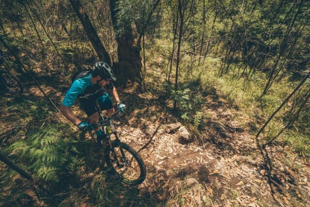 The trails of Beauty are the anti-flow-trail; 100% tech! These are old school, hand built single tracks, and you need to be committed and alert to ride them well. You can see why this place breeds some exceptional riders.