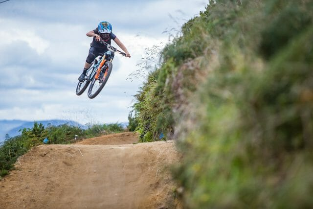 We think it's fitting to finish up with yet another shot of Casey Brown sending it- were excited for Les Gets already!