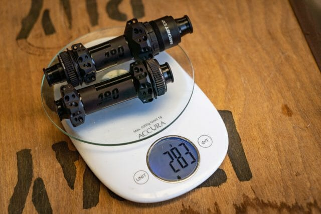 dt swiss 180 hubs scales weight