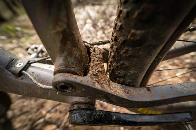 The cables and brake lines could do with a trim to neaten things up in front of the bars