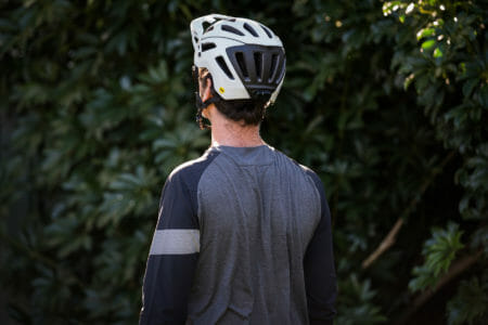 Rapha 3/4 Sleeve Trail Jersey from the back