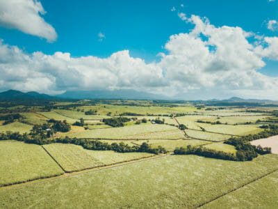 Cairns from above
