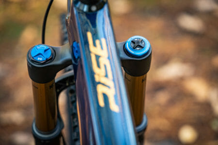 2021 orbea rise m10 review fox 36 grip2