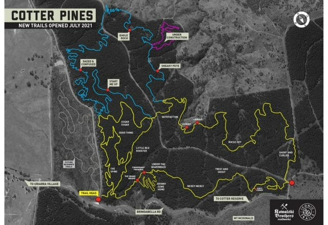 Cotter Pines Trail Network